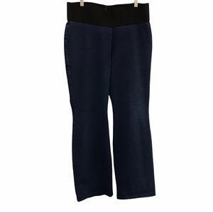 Nygard Slims high rise bootcut blue jeans large